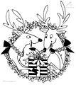 Rudolph The Red-Nosed Reindeer Coloring Page>> Rudolph The Red-Nosed Reindeer Coloring Page