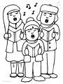 Kinds Singing Christmas Chorus