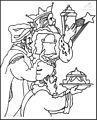 Three Wise Men Coloring Page>> Three Wise Men Coloring Page