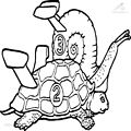 Turtle Coloring Page